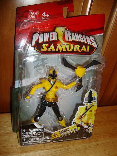 2011 wave 1 Power Rangers samurai set of 6 pink, yellow, mooger, blue