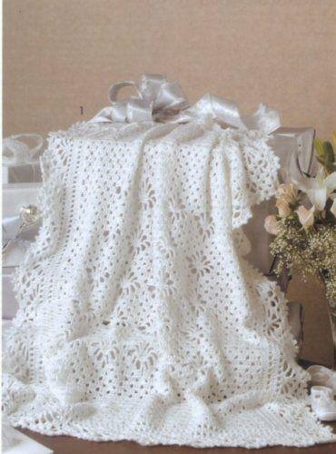 Crochet Lace Baby Blanket Free Pattern : baby CROCHET AFGHAN PATTERNS Lace Afghan Blankets New Keepsake