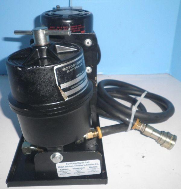 Welch 1418G Vacuum Pump w/ Motor Guard M 26 Air Filter