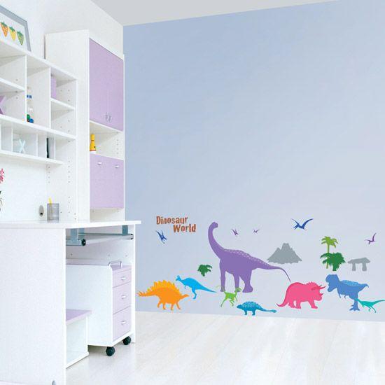 Dinosaur Kids Room Wall Stickers Vinyl Decals Mural