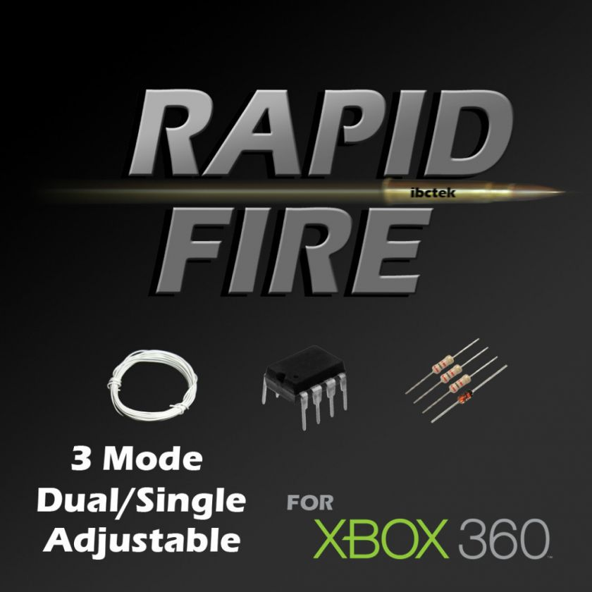 Mode XBox 360 Rapid Fire Controller Kit Adjustable Rapidfire Sleeper