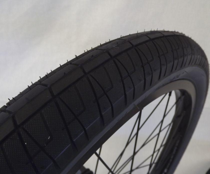 New Salt BMX Wheel Set Rims Wheels 9 tooth Black Anodized Salt Captor