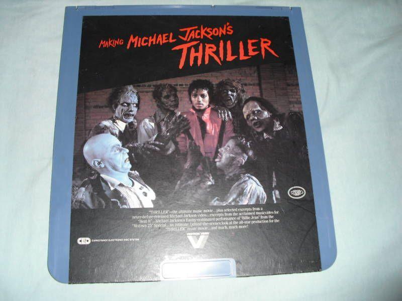 Making Michael Jacksons Thriller video Disc