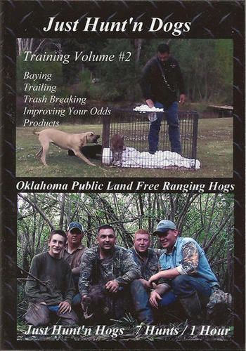 Bay DOG TRAINING II ~ Hog ~ Wild Boar ~ Hunting DVD NEW